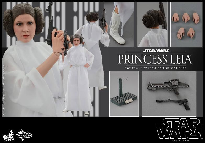 Hot Toys Star Wars 1/6 scale Princess Leia - A New Hope Leia_111