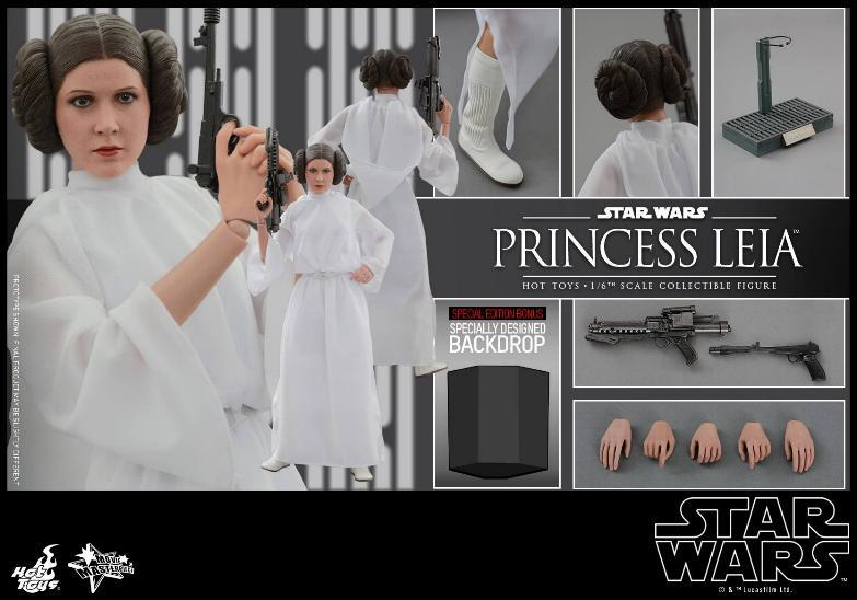 Hot Toys Star Wars 1/6 scale Princess Leia - A New Hope Leia_112