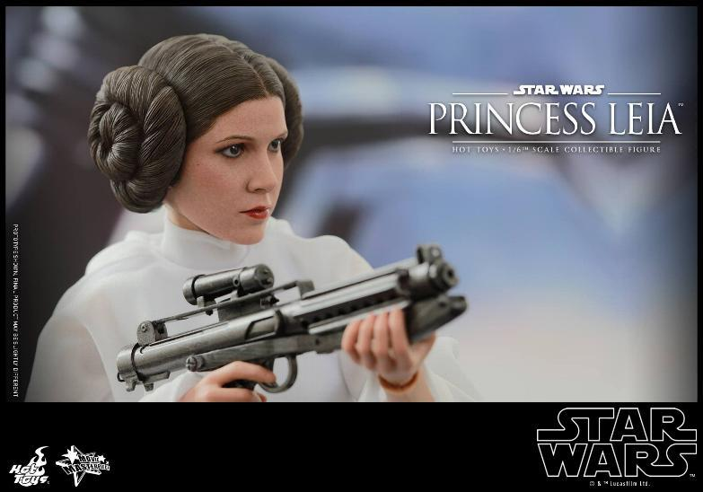 Hot Toys Star Wars 1/6 scale Princess Leia - A New Hope Leia_113
