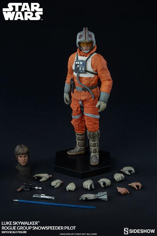 Sideshow Luke Skywalker Snowspeeder Pilot Sixth Scale Figure Luke_r11