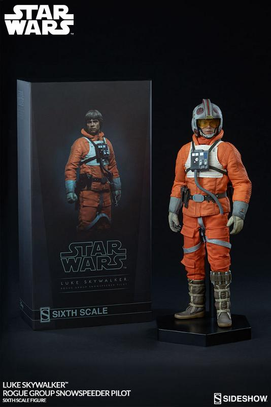 Sideshow Luke Skywalker Snowspeeder Pilot Sixth Scale Figure Luke_r12