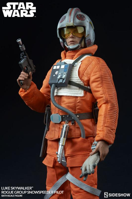 Sideshow Luke Skywalker Snowspeeder Pilot Sixth Scale Figure Luke_r13