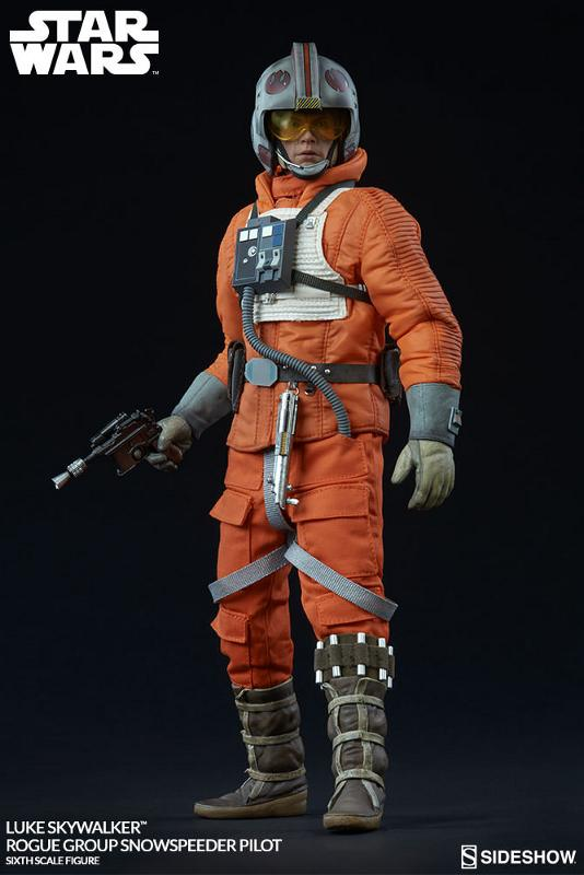 Sideshow Luke Skywalker Snowspeeder Pilot Sixth Scale Figure Luke_r14