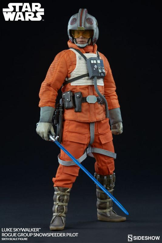 Sideshow Luke Skywalker Snowspeeder Pilot Sixth Scale Figure Luke_r15