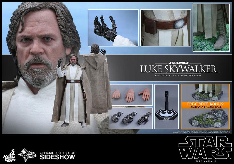 Hot Toys Star Wars - TFA Luke Skywalker 1/6th Scale Figure  Luke_t20