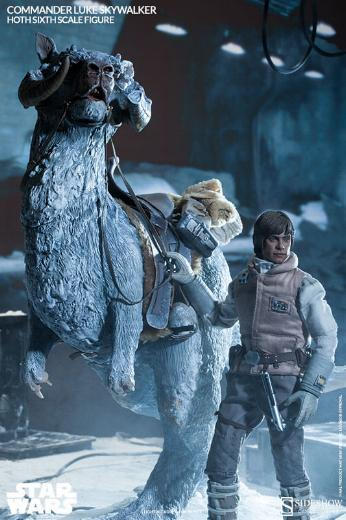 Sideshow Collectible - Luke, Han & Tauntaun Hoth Planet Lukean17