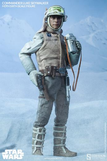 Sideshow Collectible - Luke, Han & Tauntaun Hoth Planet Lukean18