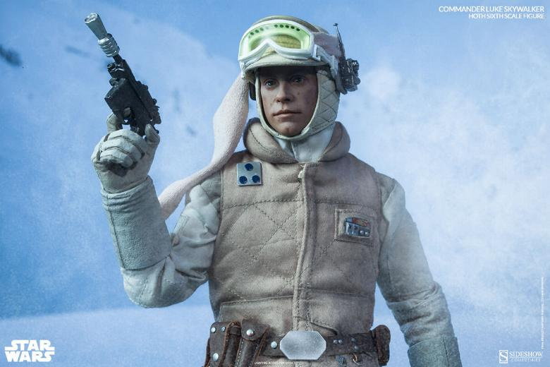 Sideshow Collectible - Luke, Han & Tauntaun Hoth Planet Lukean19