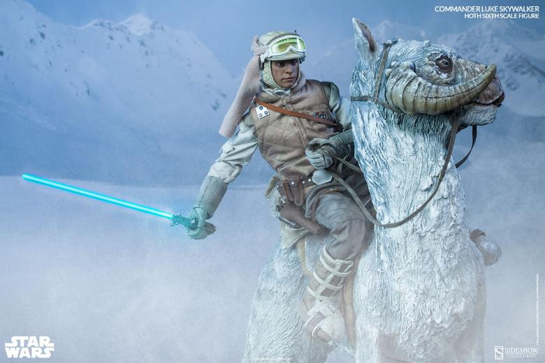 Sideshow Collectible - Luke, Han & Tauntaun Hoth Planet Lukean32