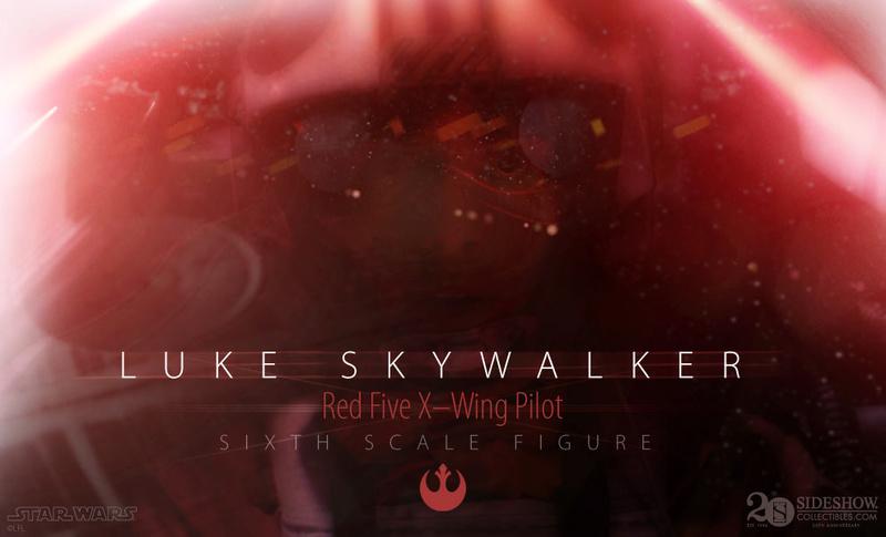 Luke Skywalker: Red Five X-Wing Pilot Sixth Scale Figure Lukere10