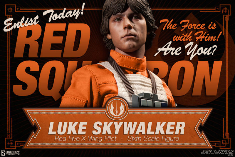 Luke Skywalker: Red Five X-Wing Pilot Sixth Scale Figure Lukere11