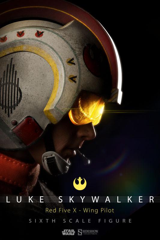 Luke Skywalker: Red Five X-Wing Pilot Sixth Scale Figure Lukere12