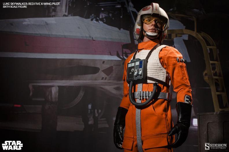 Luke Skywalker: Red Five X-Wing Pilot Sixth Scale Figure Lukere13