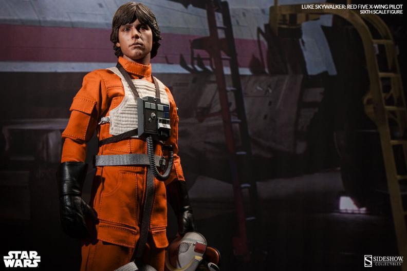 Luke Skywalker: Red Five X-Wing Pilot Sixth Scale Figure Lukere14
