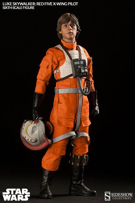 Luke Skywalker: Red Five X-Wing Pilot Sixth Scale Figure Lukere16