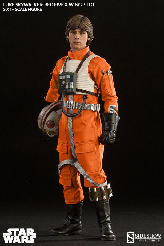 Luke Skywalker: Red Five X-Wing Pilot Sixth Scale Figure Lukere17