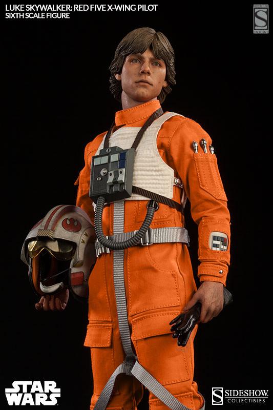 Luke Skywalker: Red Five X-Wing Pilot Sixth Scale Figure Lukere18