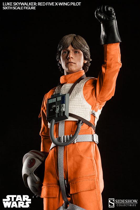 Luke Skywalker: Red Five X-Wing Pilot Sixth Scale Figure Lukere20