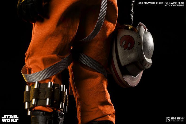 Luke Skywalker: Red Five X-Wing Pilot Sixth Scale Figure Lukere21