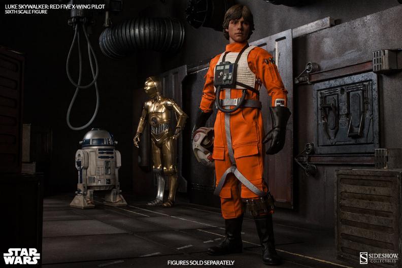 Luke Skywalker: Red Five X-Wing Pilot Sixth Scale Figure Lukere22