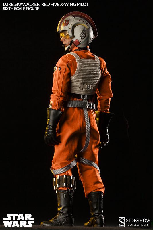 Luke Skywalker: Red Five X-Wing Pilot Sixth Scale Figure Lukere23