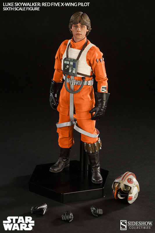 Luke Skywalker: Red Five X-Wing Pilot Sixth Scale Figure Lukere27