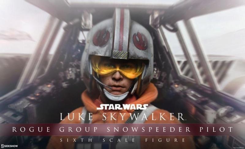 Sideshow Luke Skywalker Snowspeeder Pilot Sixth Scale Figure Lukesn10