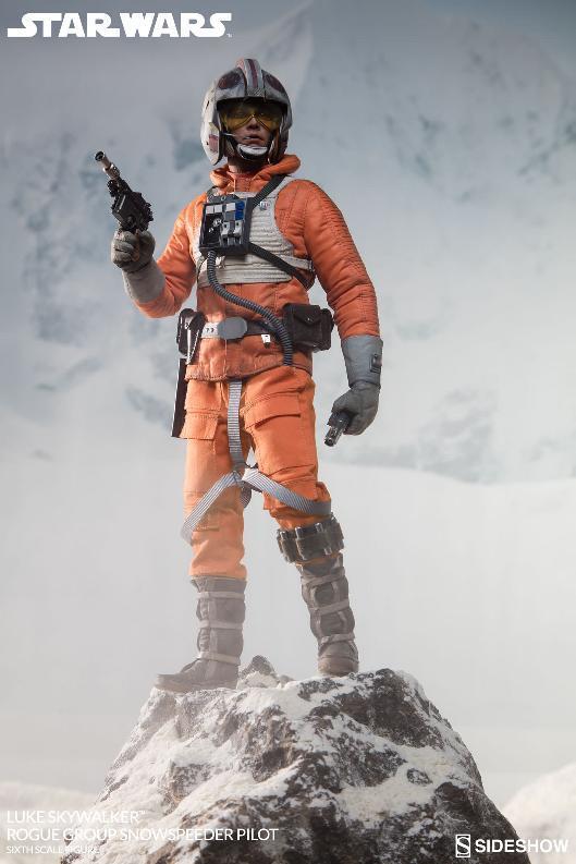 Sideshow Luke Skywalker Snowspeeder Pilot Sixth Scale Figure Lukesn11