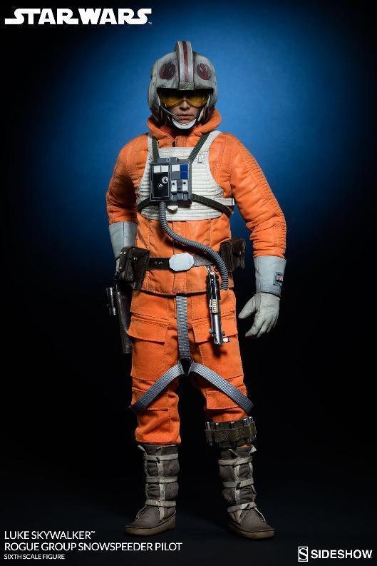 Sideshow Luke Skywalker Snowspeeder Pilot Sixth Scale Figure Lukesn12