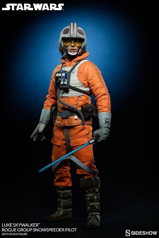 Sideshow Luke Skywalker Snowspeeder Pilot Sixth Scale Figure Lukesn13