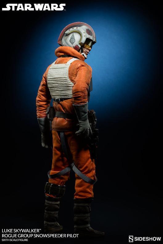 Sideshow Luke Skywalker Snowspeeder Pilot Sixth Scale Figure Lukesn14