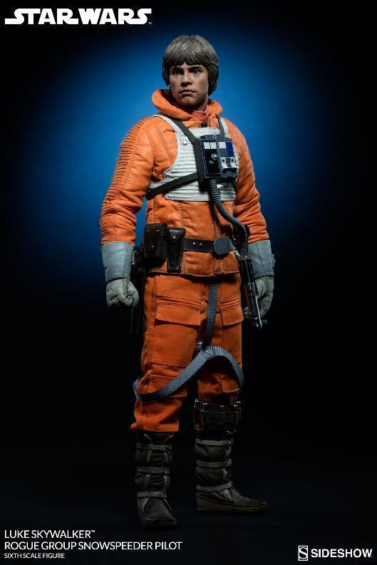 Sideshow Luke Skywalker Snowspeeder Pilot Sixth Scale Figure Lukesn15