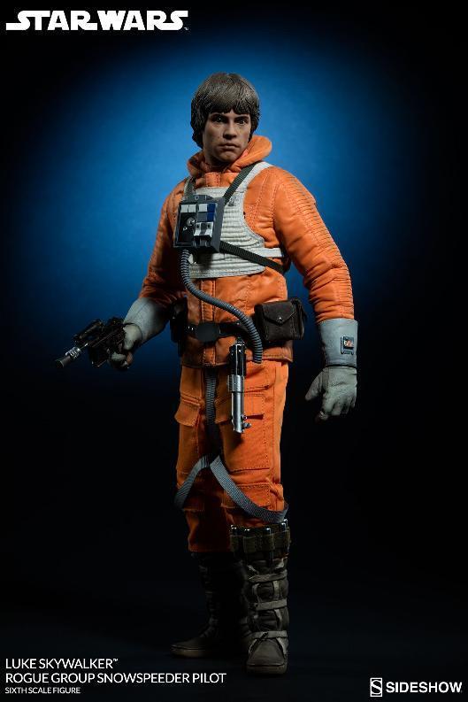 Sideshow Luke Skywalker Snowspeeder Pilot Sixth Scale Figure Lukesn16