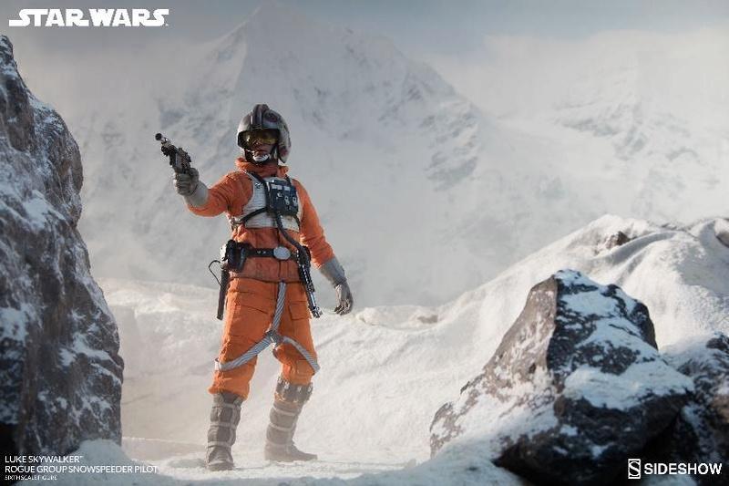 Sideshow Luke Skywalker Snowspeeder Pilot Sixth Scale Figure Lukesn17