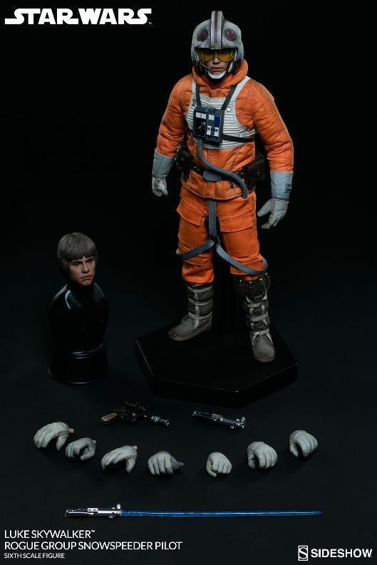 Sideshow Luke Skywalker Snowspeeder Pilot Sixth Scale Figure Lukesn18