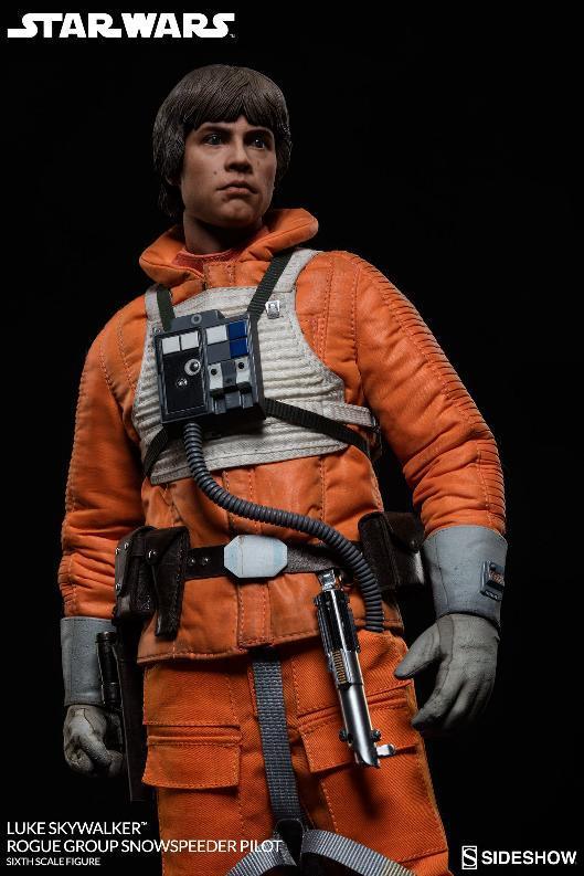 Sideshow Luke Skywalker Snowspeeder Pilot Sixth Scale Figure Lukesn19