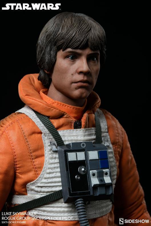 Sideshow Luke Skywalker Snowspeeder Pilot Sixth Scale Figure Lukesn20