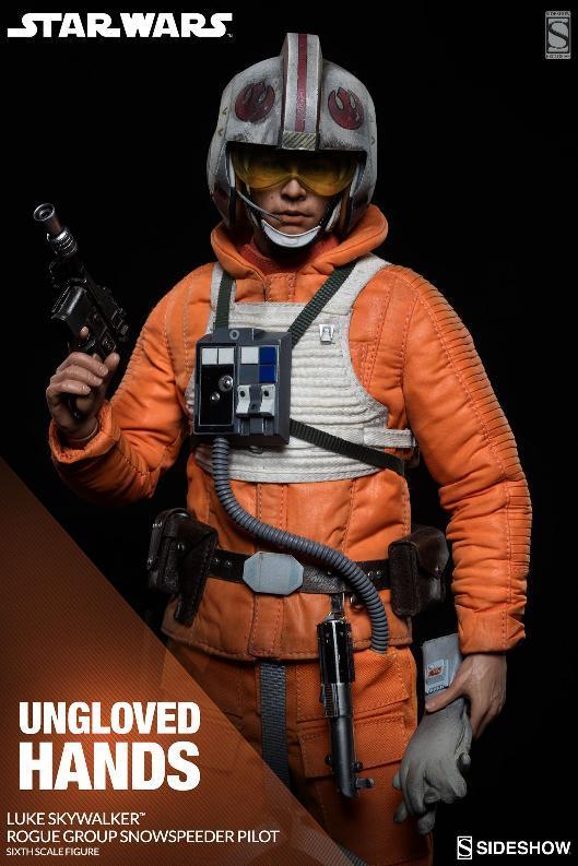 Sideshow Luke Skywalker Snowspeeder Pilot Sixth Scale Figure Lukesn22