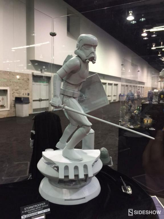 Sideshow Stormtrooper Statue Ralph McQuarrie Artist Series  Mquarr13
