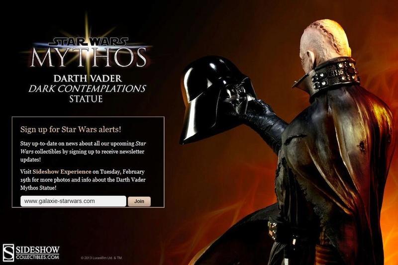 Sideshow - Mythos - Darth Vader - Dark Contemplations - Page 2 Mythos11