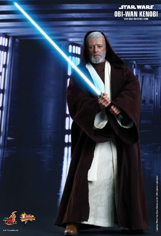 Hot Toys Star Wars ANH 1/6th Obi Wan Kenobi Figure Obi_0210