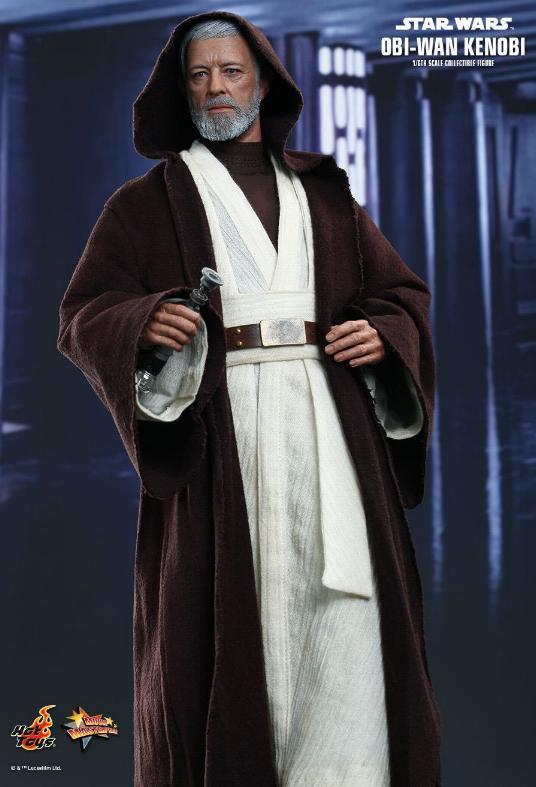 Hot Toys Star Wars ANH 1/6th Obi Wan Kenobi Figure Obi_0310