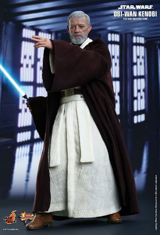 Hot Toys Star Wars ANH 1/6th Obi Wan Kenobi Figure Obi_0410