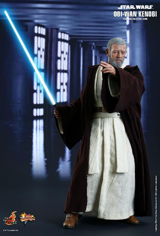 Hot Toys Star Wars ANH 1/6th Obi Wan Kenobi Figure Obi_0510