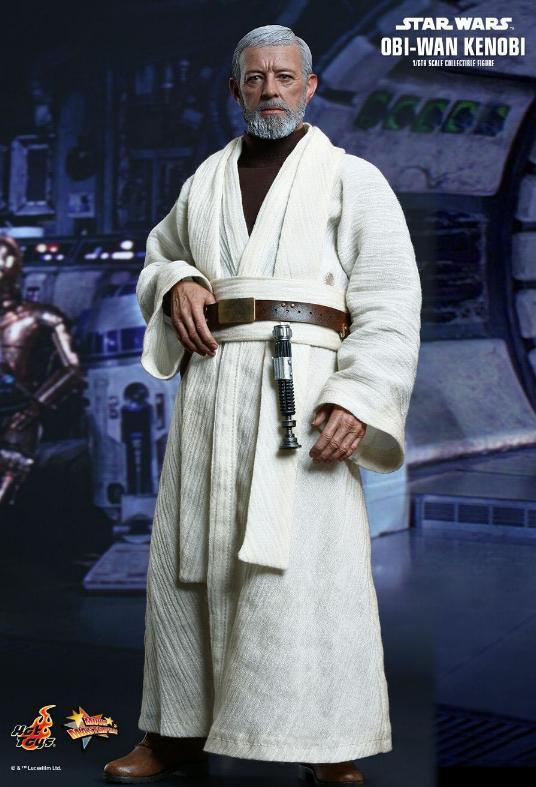 Hot Toys Star Wars ANH 1/6th Obi Wan Kenobi Figure Obi_0610