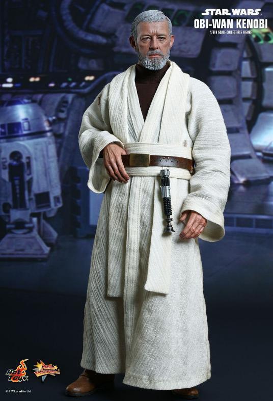 Hot Toys Star Wars ANH 1/6th Obi Wan Kenobi Figure Obi_0710