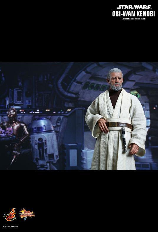 Hot Toys Star Wars ANH 1/6th Obi Wan Kenobi Figure Obi_0810