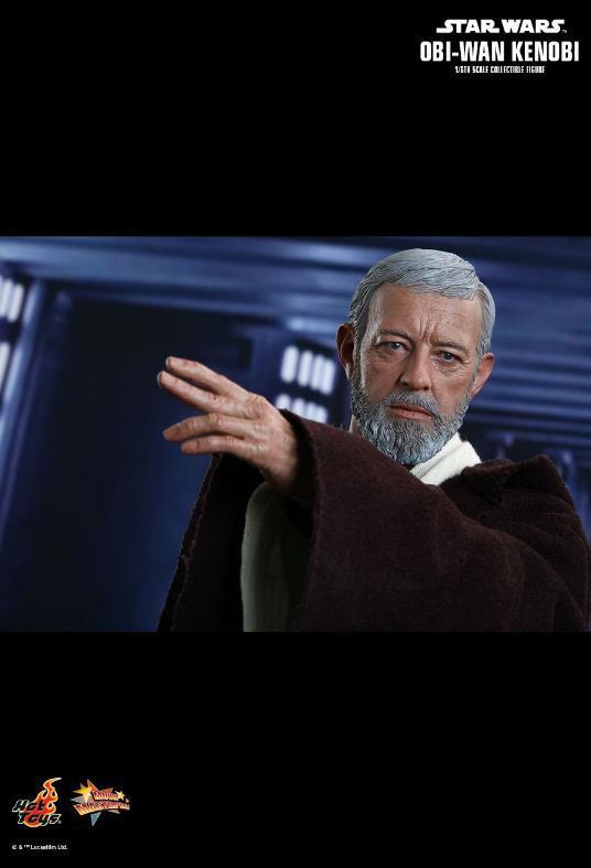 Hot Toys Star Wars ANH 1/6th Obi Wan Kenobi Figure Obi_1110