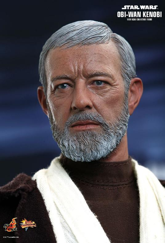 Hot Toys Star Wars ANH 1/6th Obi Wan Kenobi Figure Obi_1210
