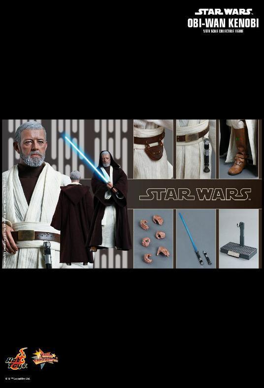 Hot Toys Star Wars ANH 1/6th Obi Wan Kenobi Figure Obi_1310